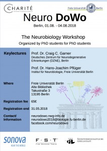 Neurobiology Doctoral Students Workshop @ Freie Universität Berlin | Berlin | Berlin | Germany