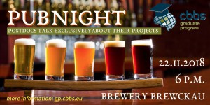 CBBS GP: Pubnight - Talk with Postdocs about projects @ Brewery Brewckau | Magdeburg | Sachsen-Anhalt | Germany