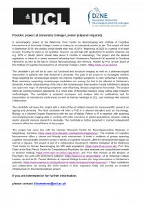 Microsoft Word - Postdoc project at University College London.do