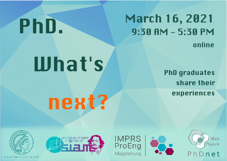 PhD: What's next? Meet interesting speakers from both academia and industry @ Zoom