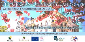 The German University Landscape: Get to know the structure of OVGU @ zoom