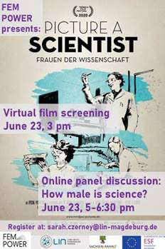 Online film screening and panel discussion: Picture a Scientist @ Zoom